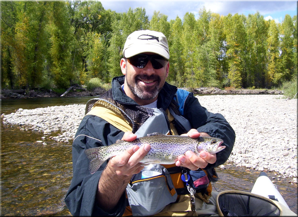 Beautiful Gunnison River Rainbow
